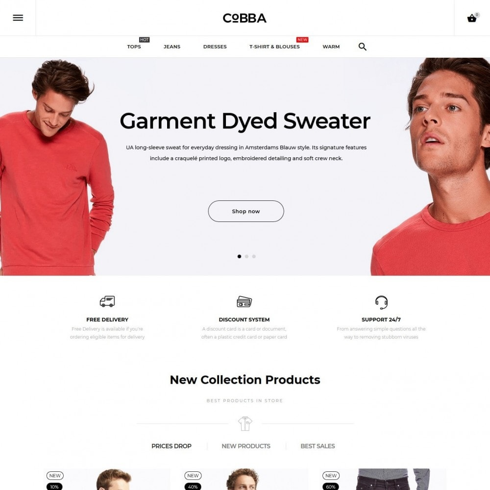 theme - Fashion & Shoes - Cobba Men's Wear - 2