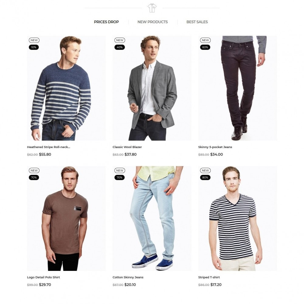 theme - Moda & Calzature - Cobba Men's Wear - 3