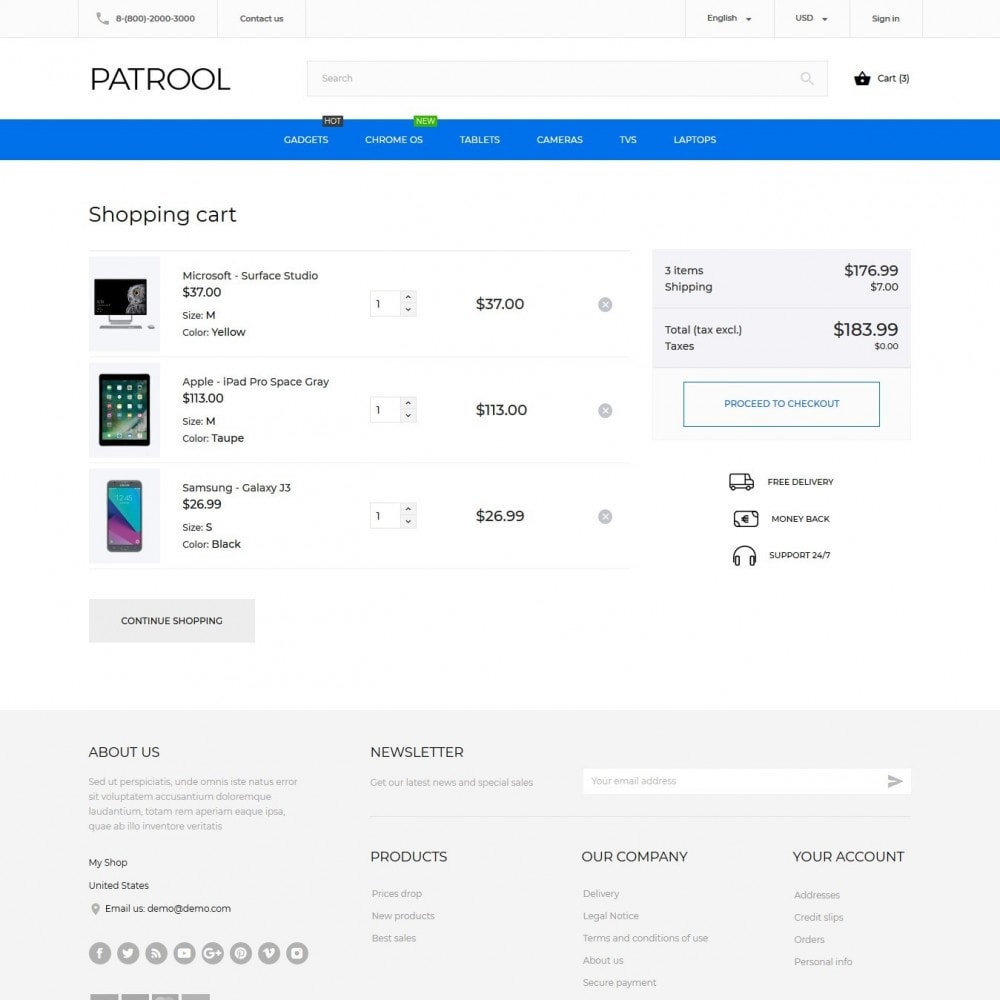 theme - Elektronik & High Tech - Patrool - High-tech Shop - 9