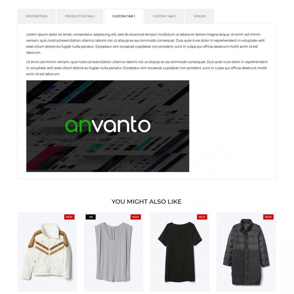theme - Мода и обувь - Instinct Fashion Store - 8