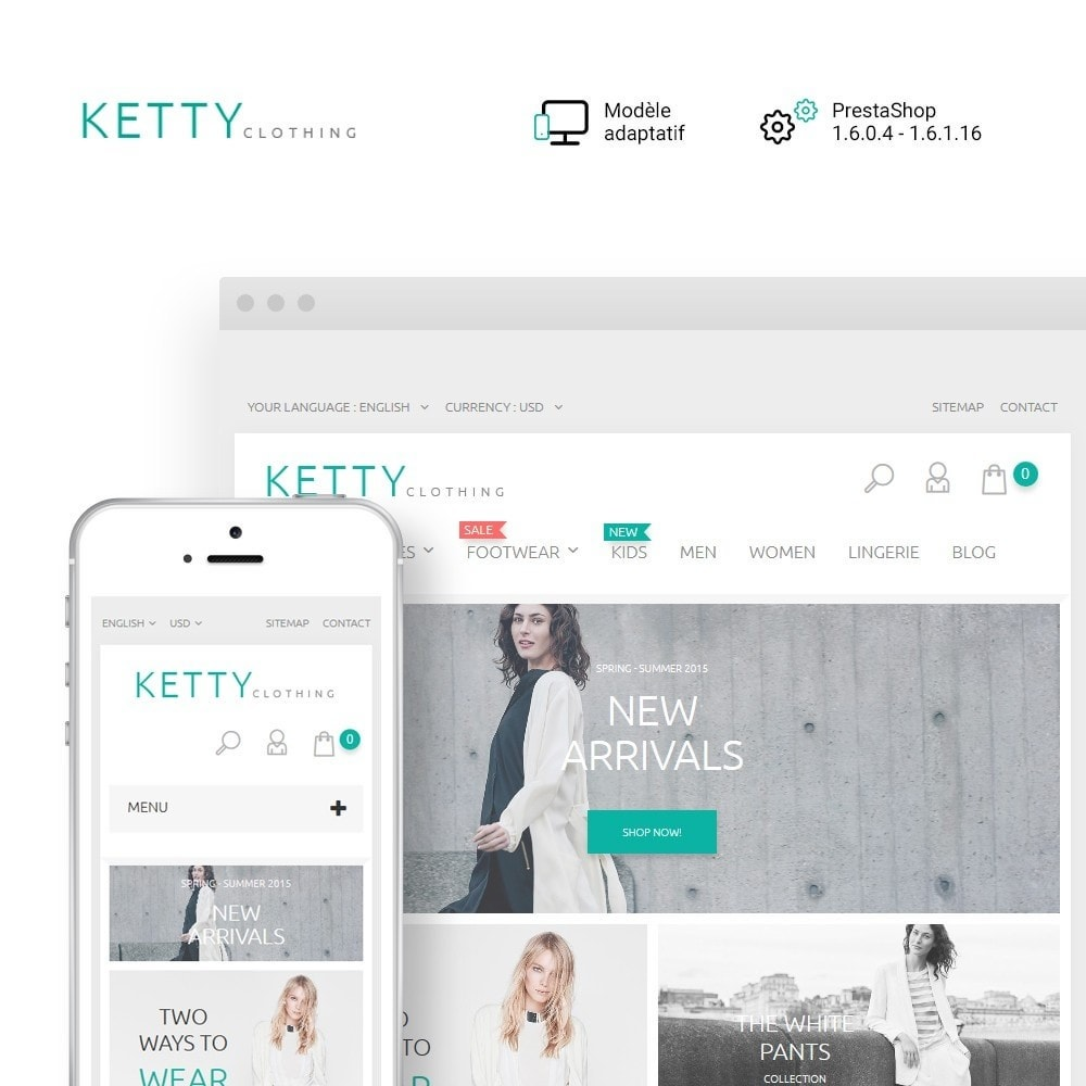 theme - Mode & Chaussures - Ketty Clothing - 1