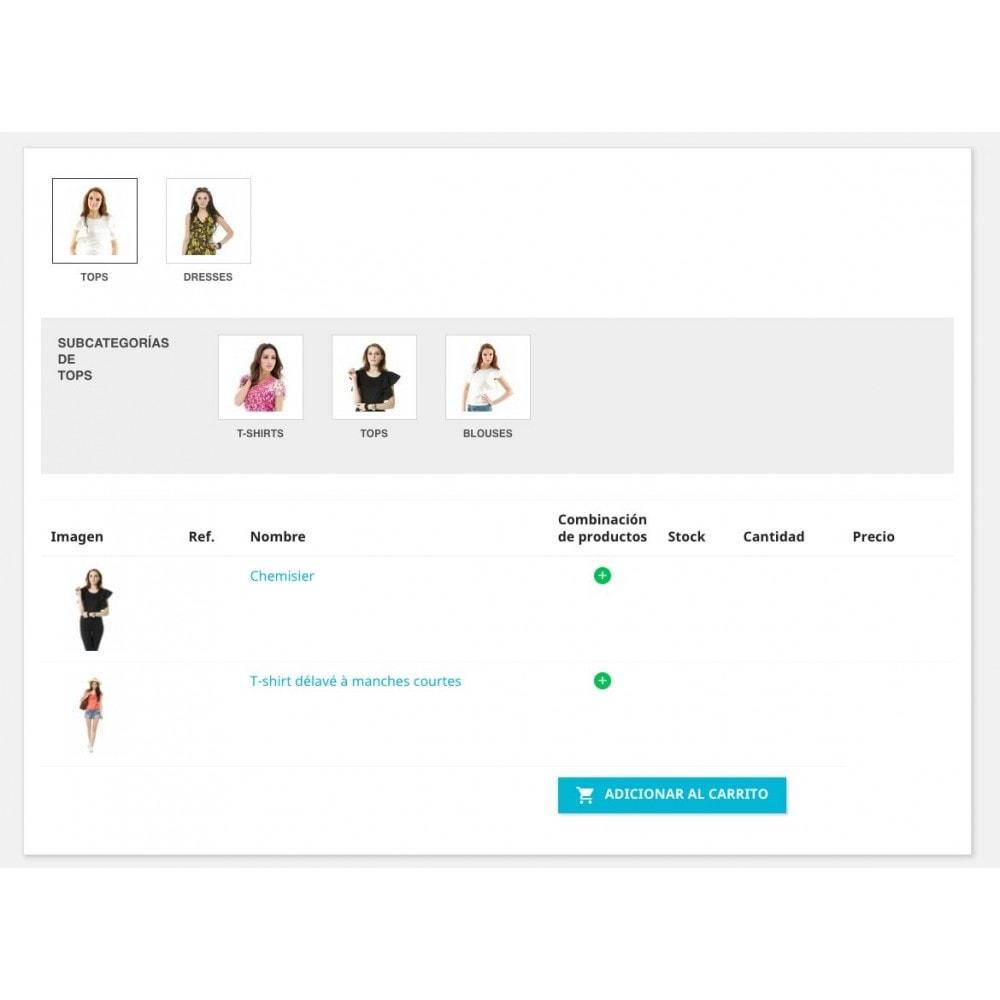 module - Proceso rápido de compra - Formulario de pedido - 3