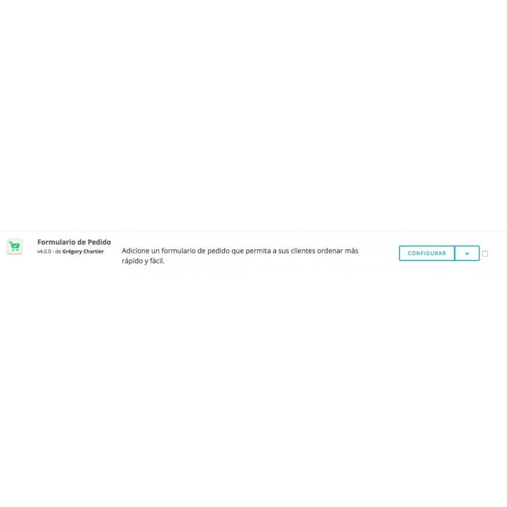 module - Proceso rápido de compra - Formulario de pedido - 8