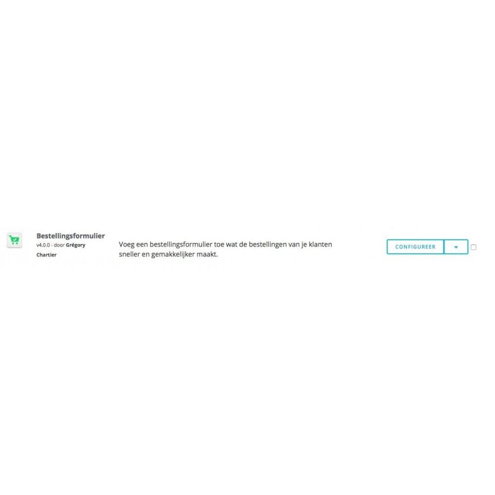 module - Bestelproces - Bestellingsformulier - 8
