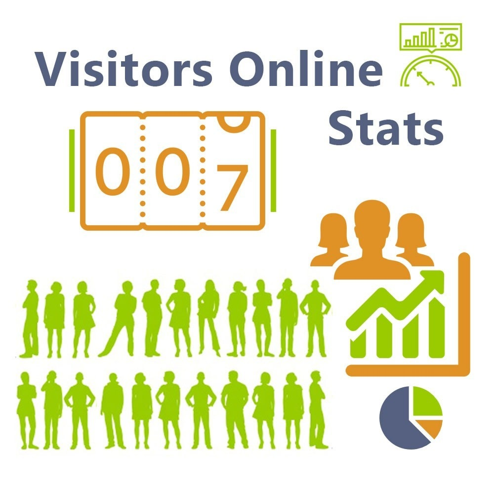 module - Analytics & Statistics - Visitors Online Stats - 1