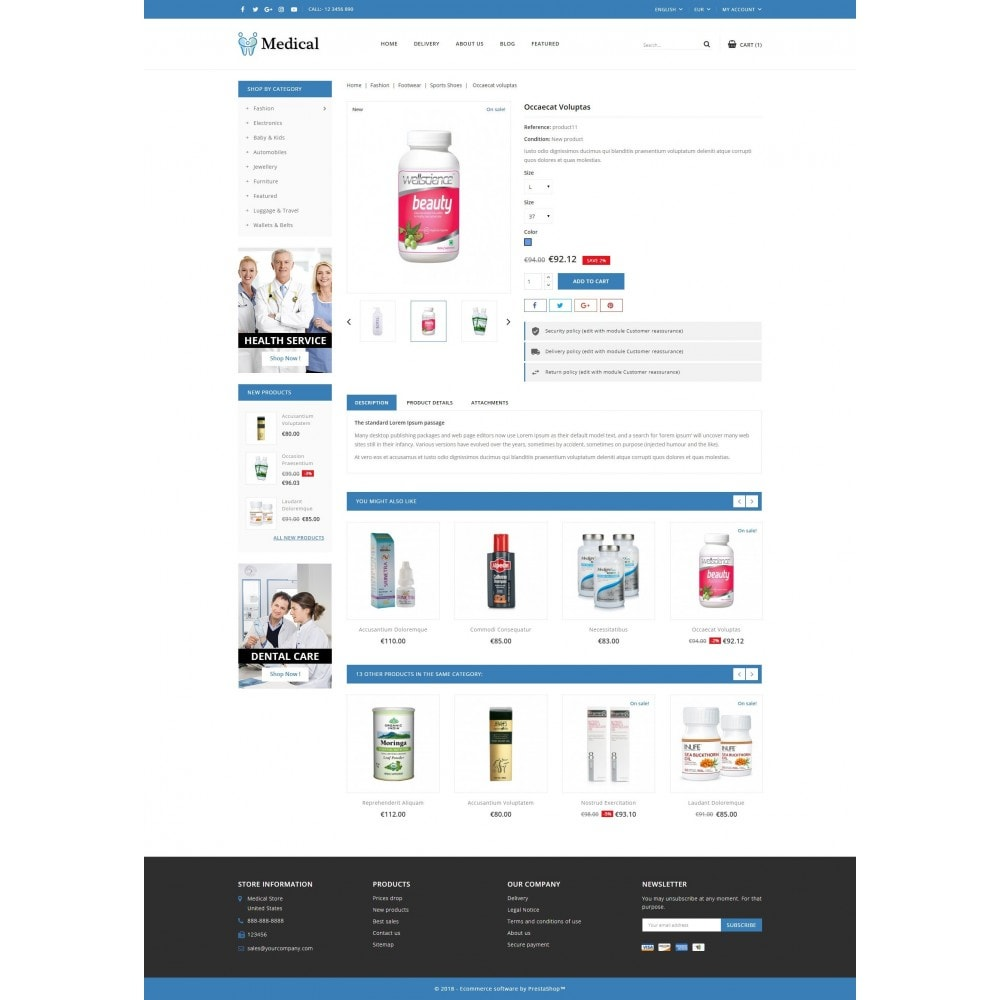 theme - Health & Beauty - Medical Store - 5