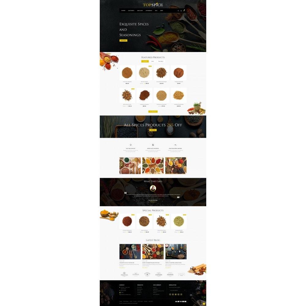theme - Eten & Restaurant - Top Spice Store - 2