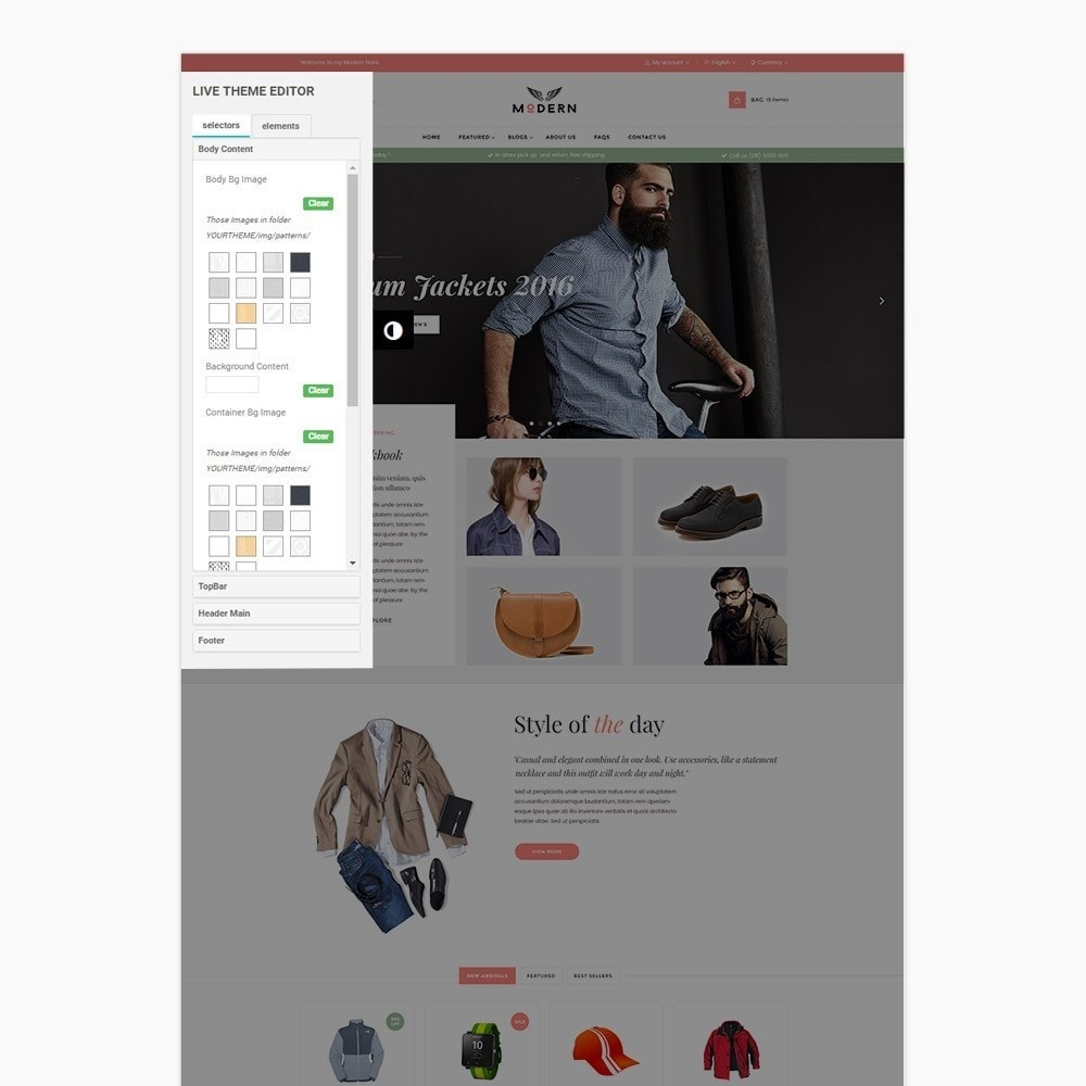theme - Mode & Chaussures - Fashion Shoes, Bag, Shirt Store - 5