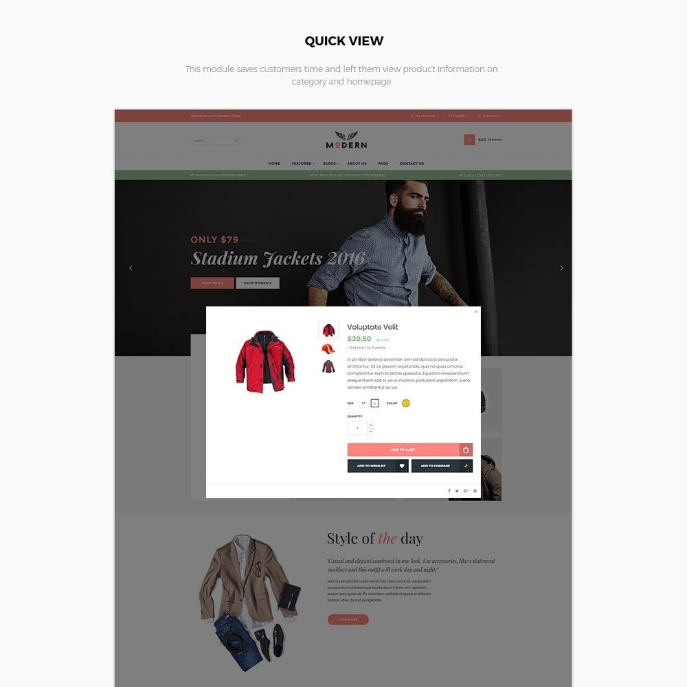 theme - Mode & Chaussures - Fashion Shoes, Bag, Shirt Store - 6