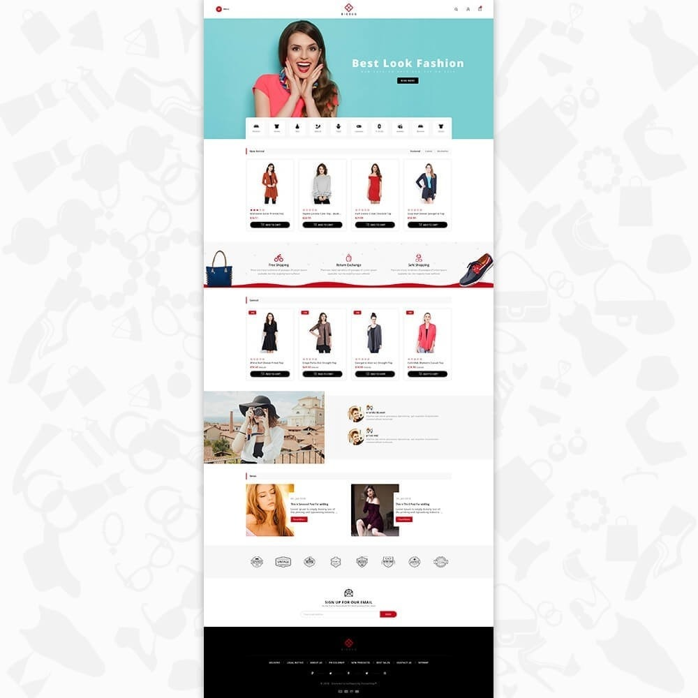 theme - Moda y Calzado - BIGBUG - The Fashion Store - 2