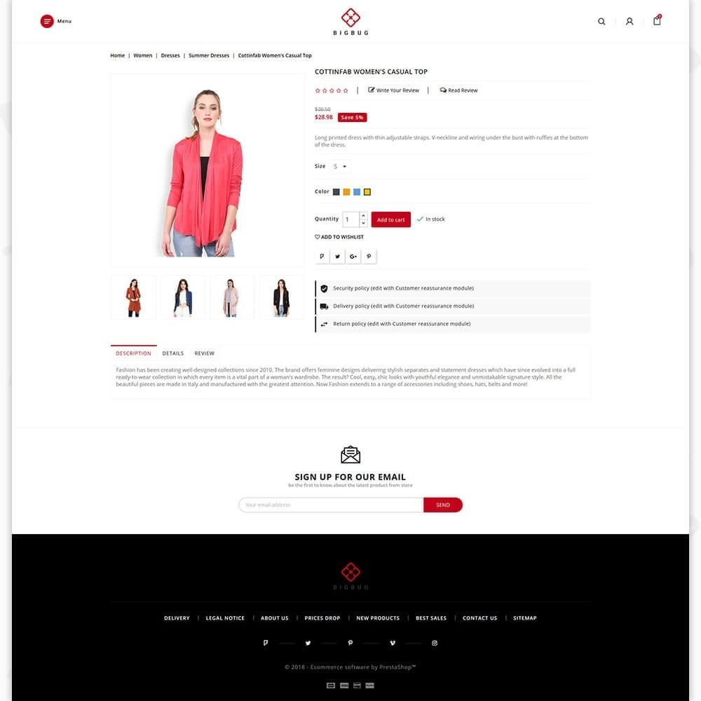 theme - Mode & Chaussures - BIGBUG - The Fashion Store - 5