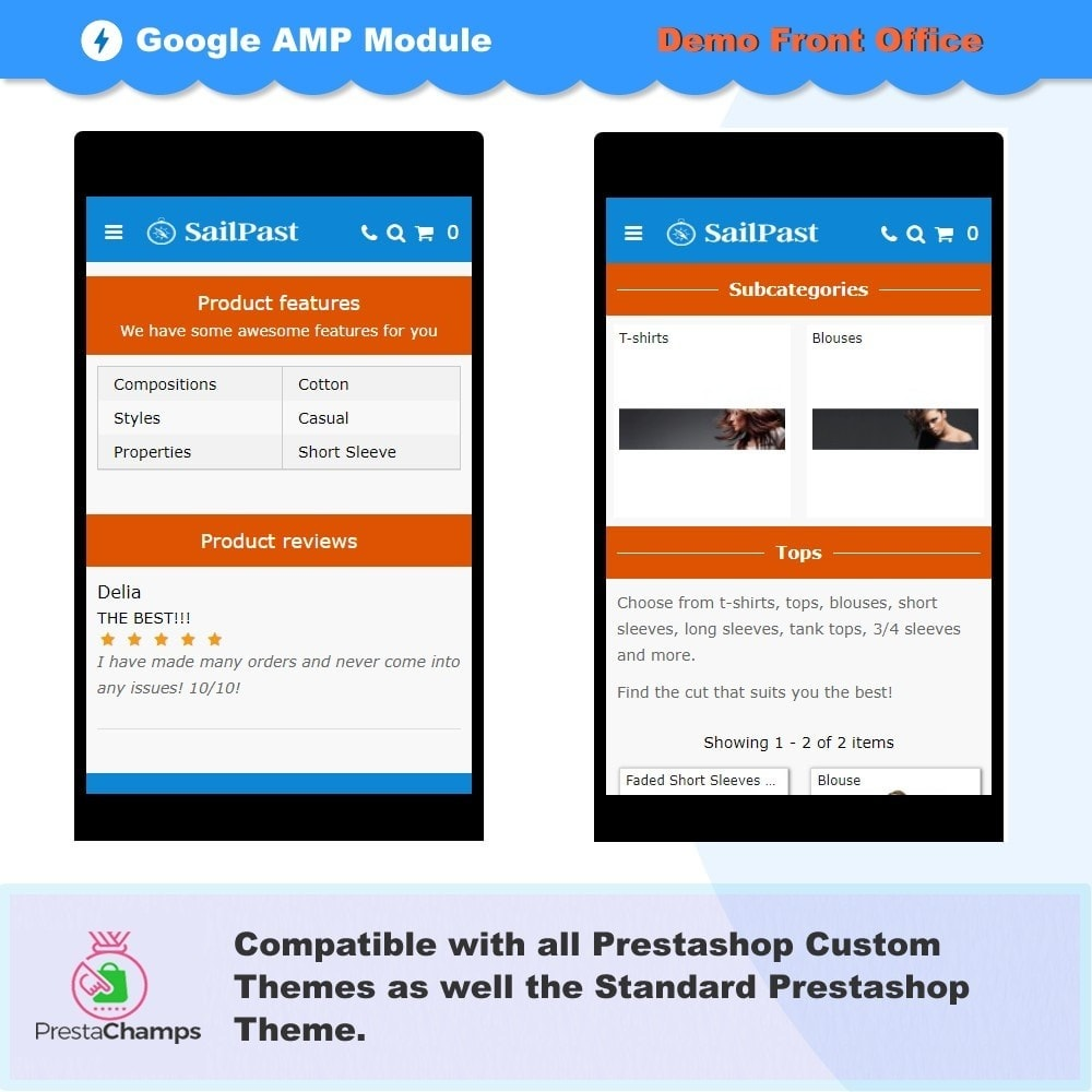 module - Performance - PROFESSIONAL AMP PAGES - ACCELERATED MOBILE PAGES - 5