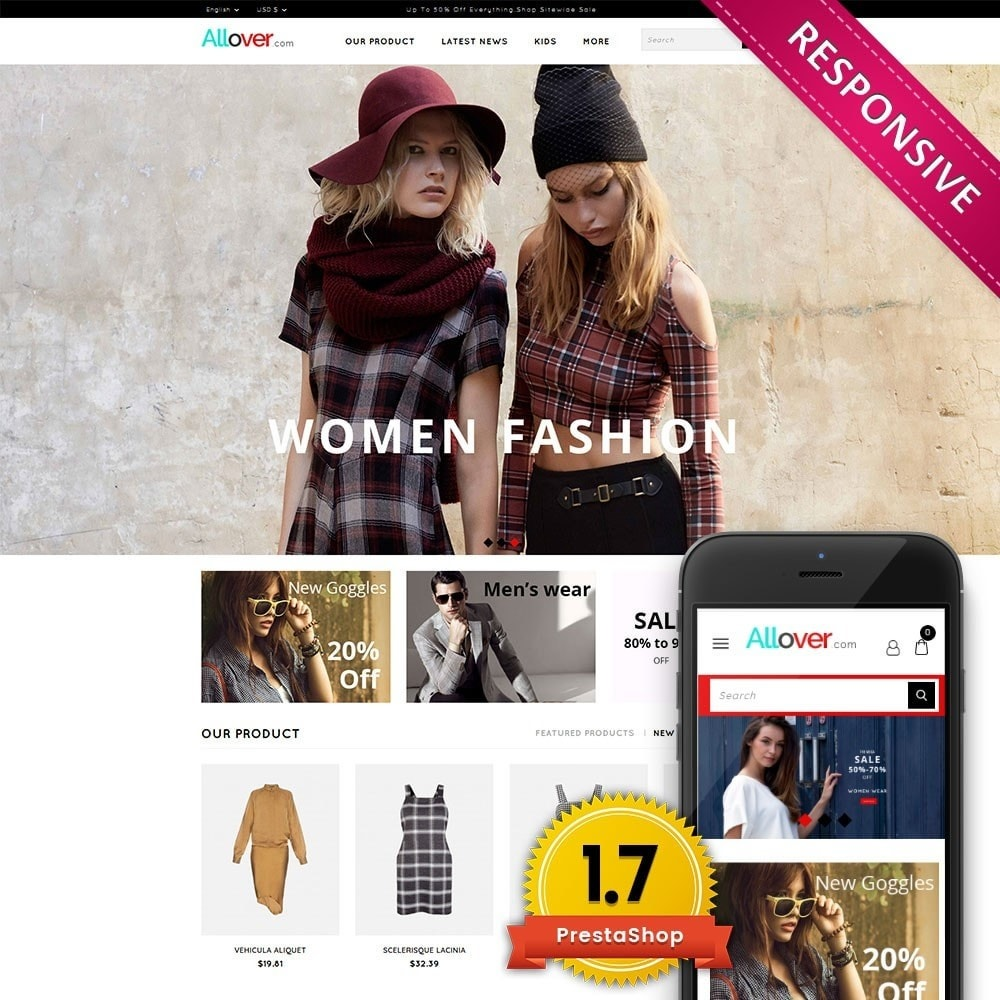 theme - Mode & Schuhe - Allover Fashion Store - 1