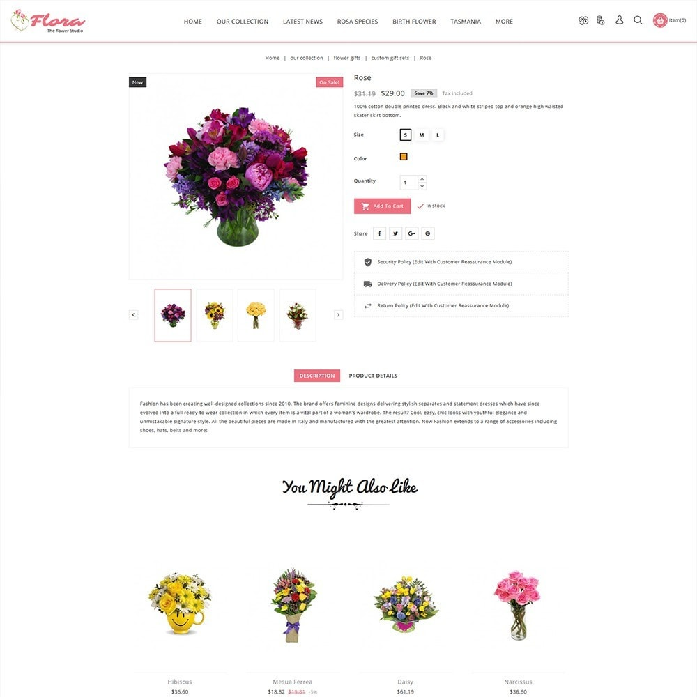 theme - Regali, Fiori & Feste - Flora Flower Shop - 6