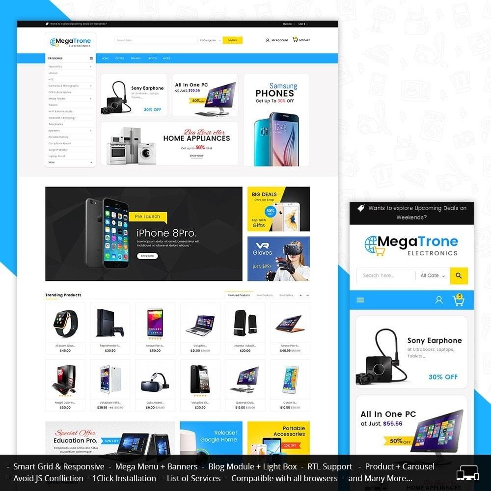 theme - Elektronika & High Tech - Mega Trone Electronics - 1