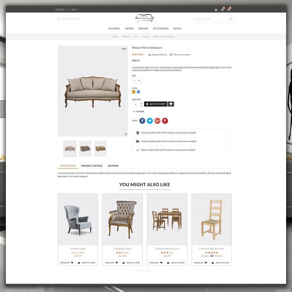 theme - Dom & Ogród - Furniture Shop - 6
