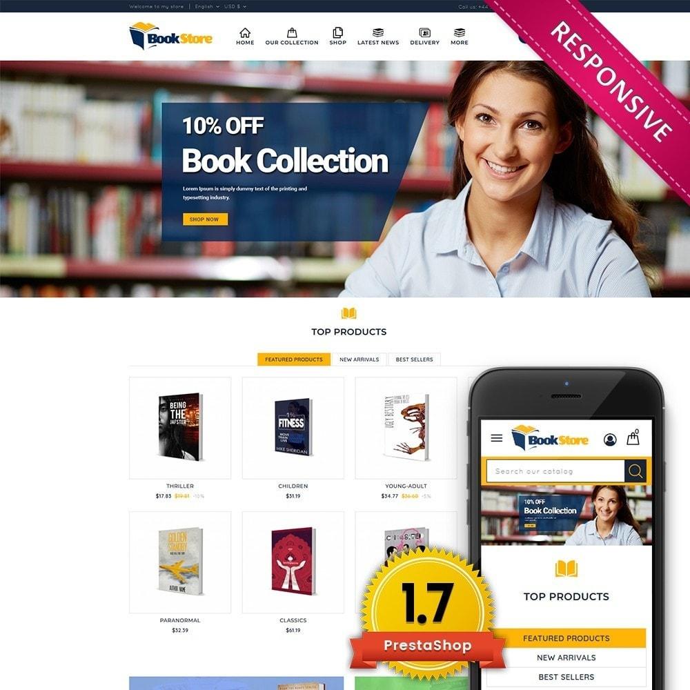 theme - Home & Garden - Book Store - 1