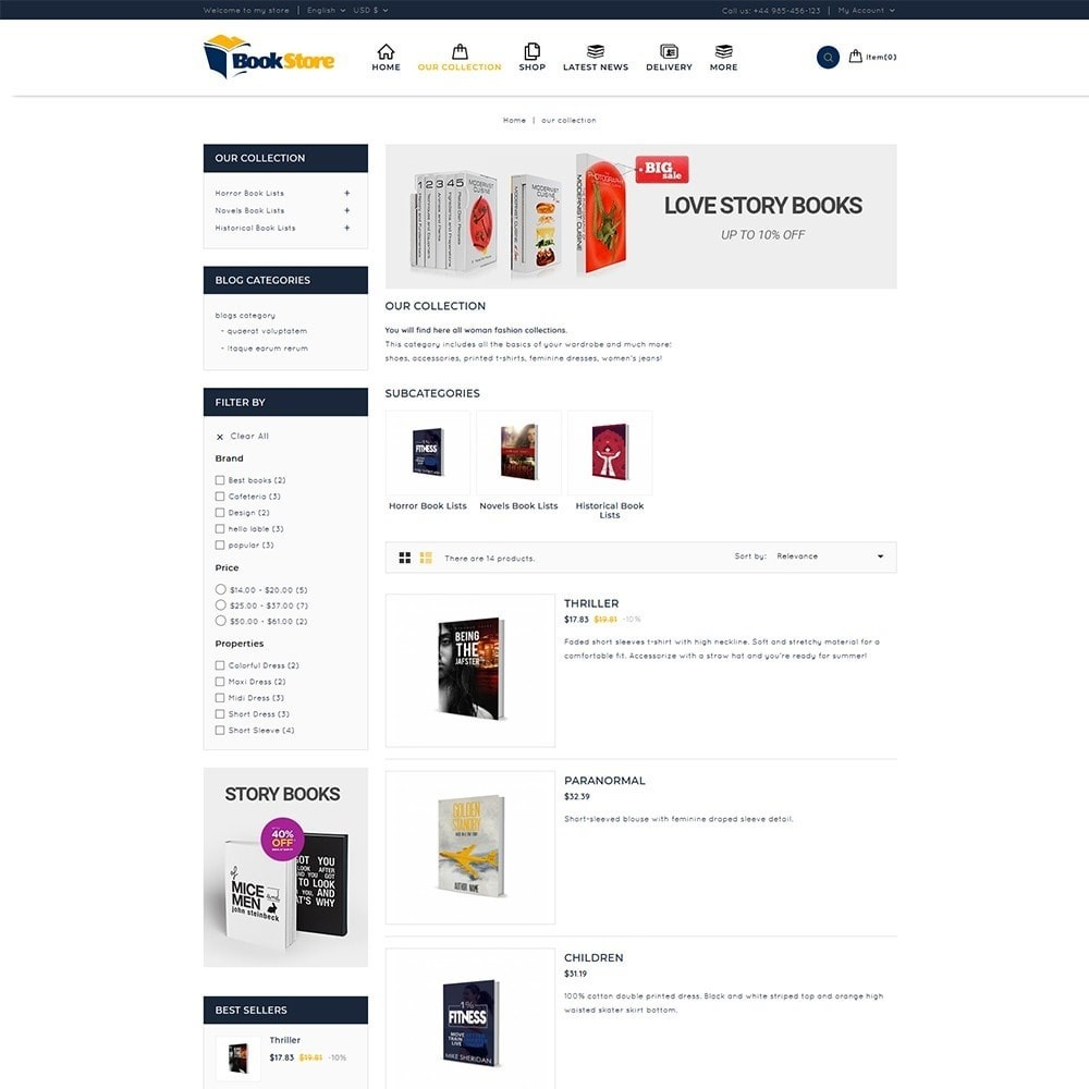 theme - Maison & Jardin - Book Store - 5