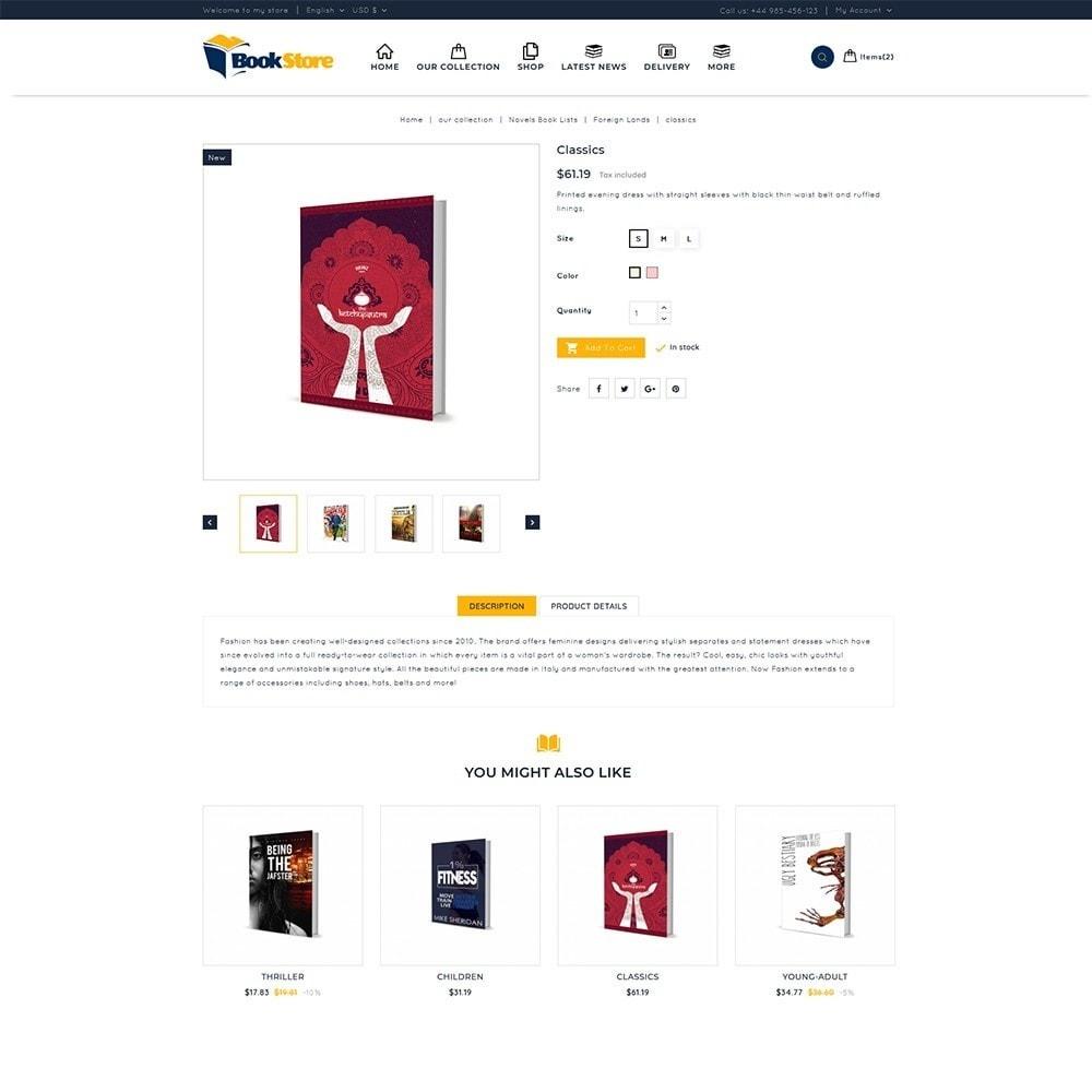 theme - Casa & Giardino - Book Store - 6