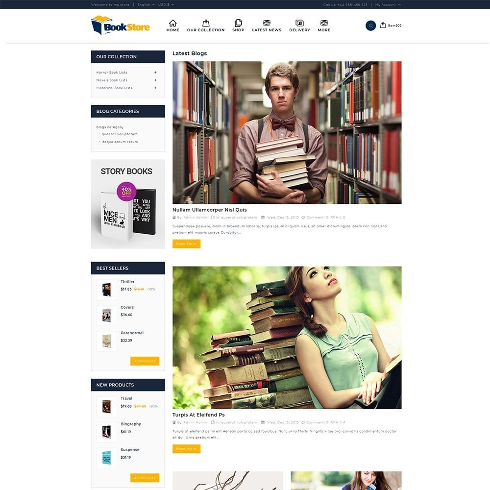 theme - Maison & Jardin - Book Store - 7