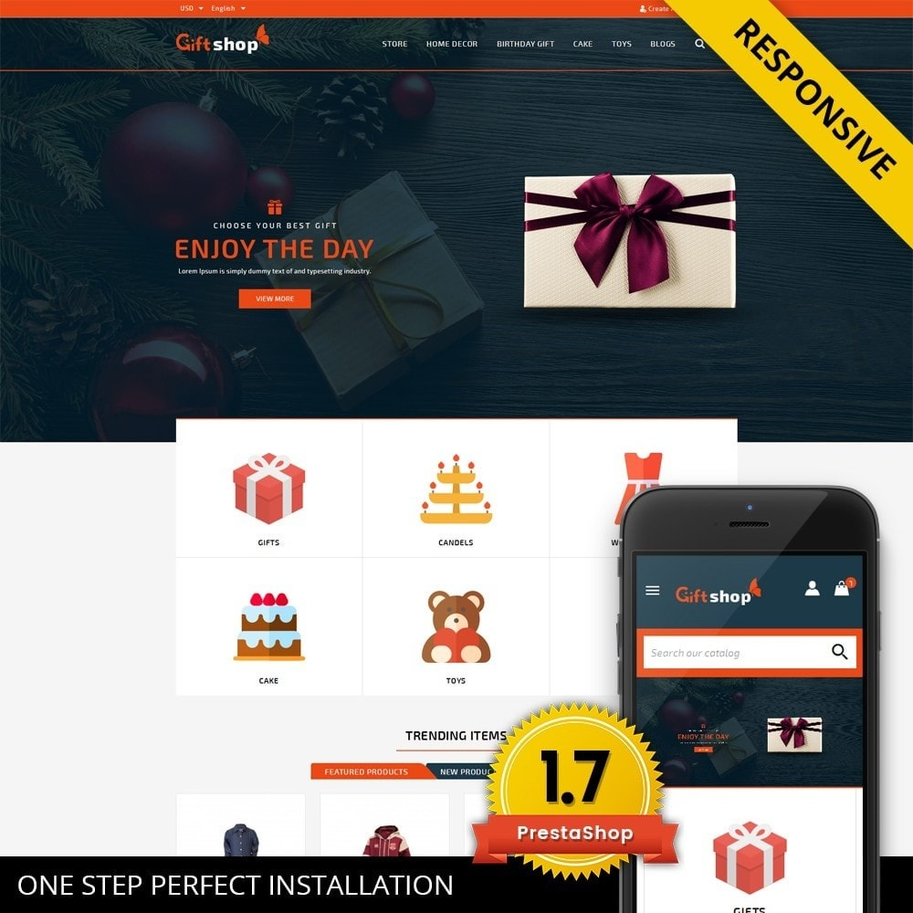 theme - Gifts, Flowers & Celebrations - GiftShop - Mega store - 1