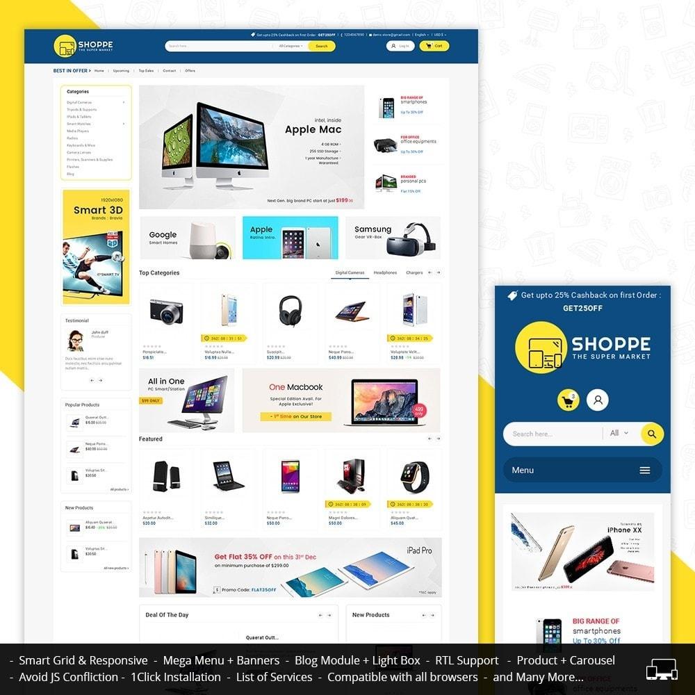 theme - Eletrônicos & High Tech - Mega Shoppe Electronics - 1