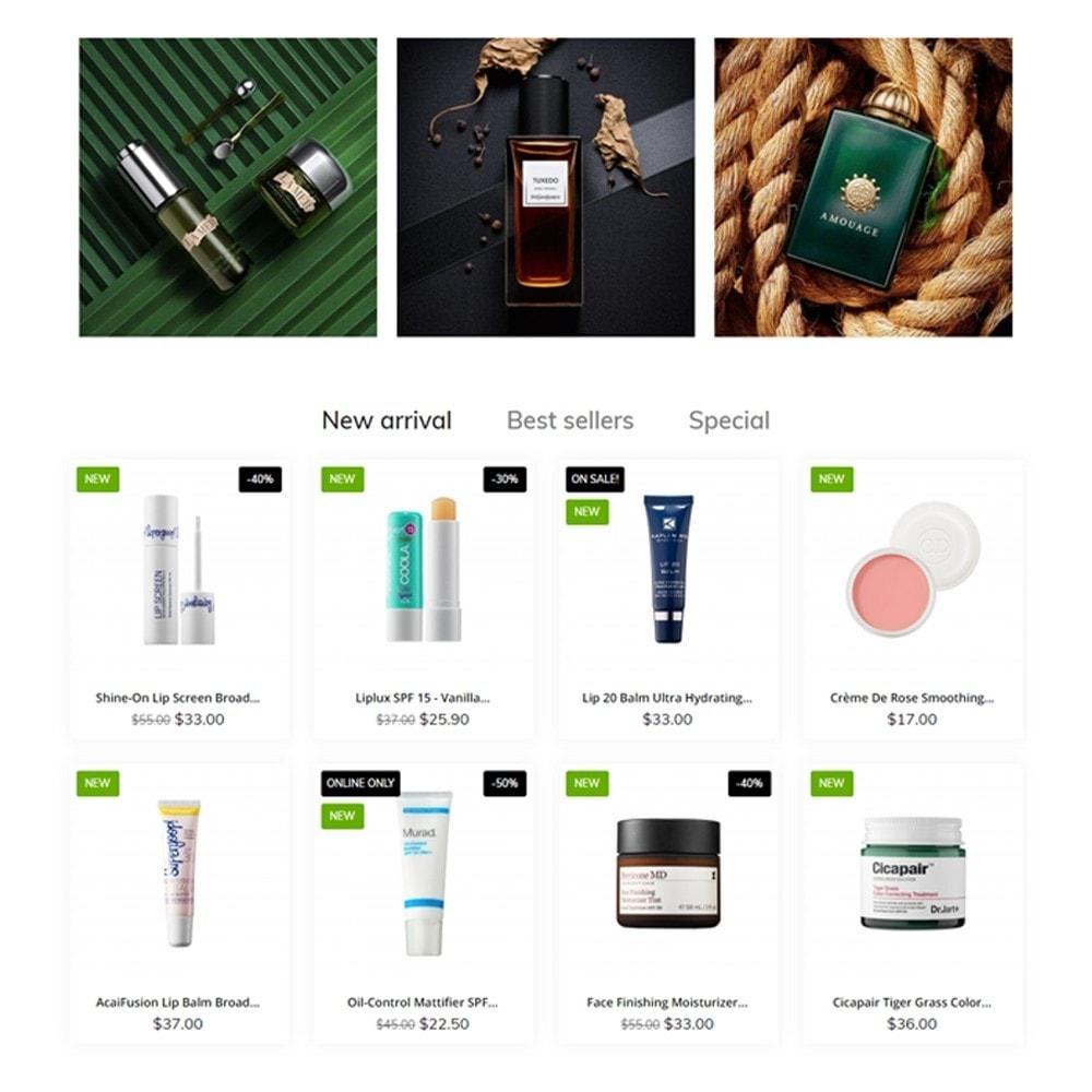 theme - Saúde & Beleza - Organica Cosmetics - 3