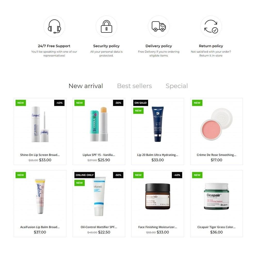 theme - Salud y Belleza - HPURE Cosmetics - 3