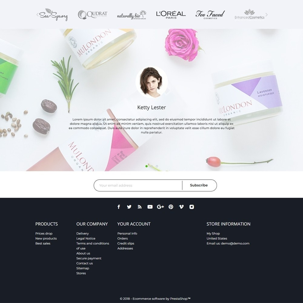 theme - Health & Beauty - HPURE Cosmetics - 4