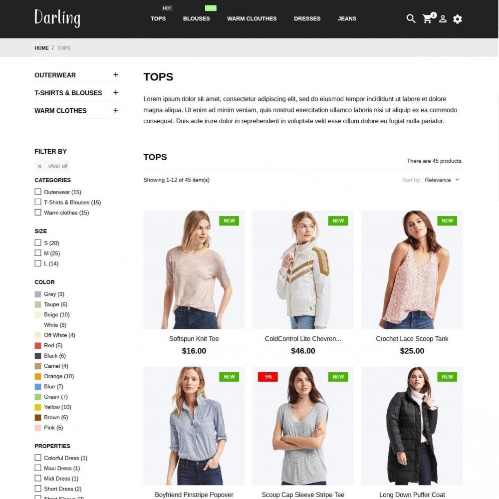 theme - Fashion & Shoes - Darling Fashion Store - 5