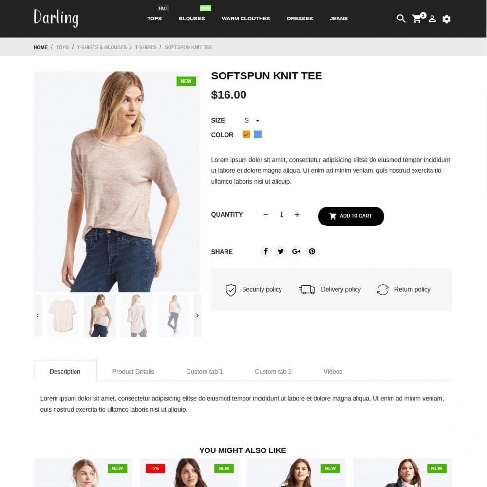 theme - Fashion & Shoes - Darling Fashion Store - 6