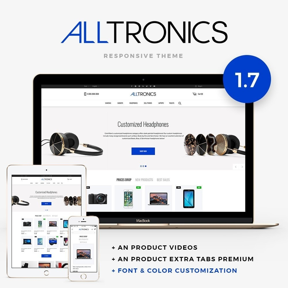 theme - Elektronica & High Tech - Alltronics - High-tech Shop - 1