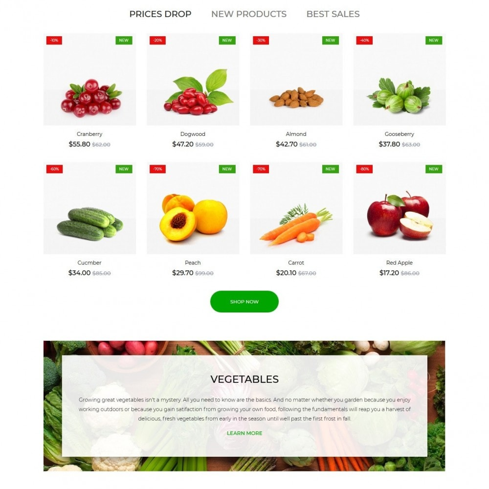 theme - Food & Restaurant - Living colours - 3
