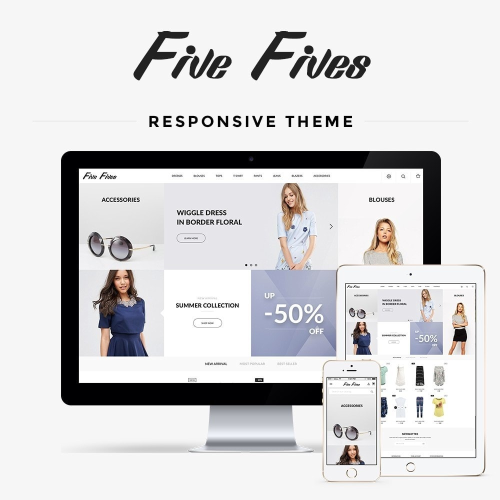 theme - Mode & Schoenen - Five Fives Fashion Store - 1