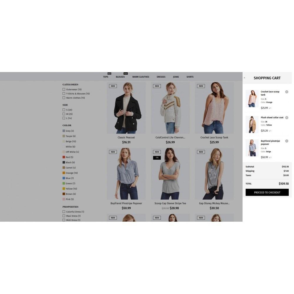 theme - Мода и обувь - Samo Sans Fashion Store - 6