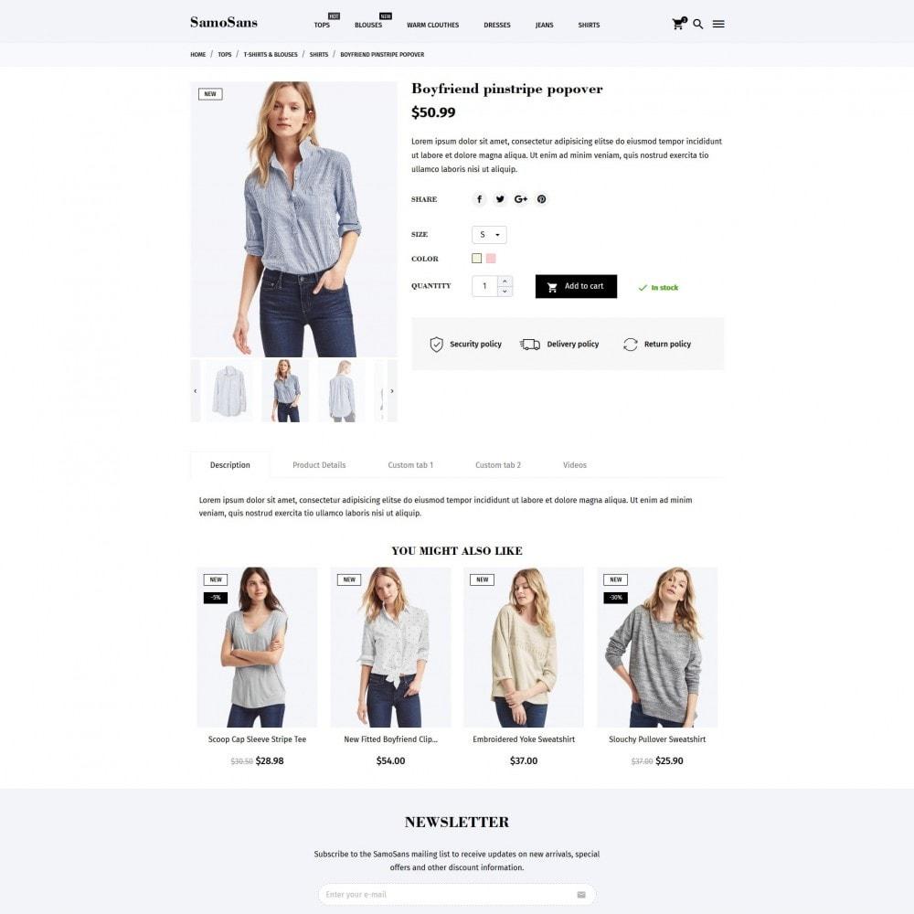 theme - Mode & Schuhe - Samo Sans Fashion Store - 9