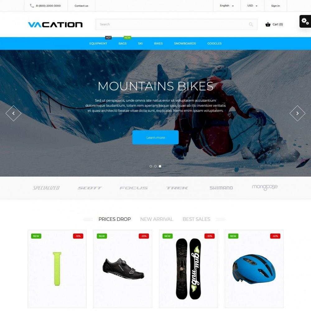 theme - Desporto, Actividades & Viagens - Vacation - 2
