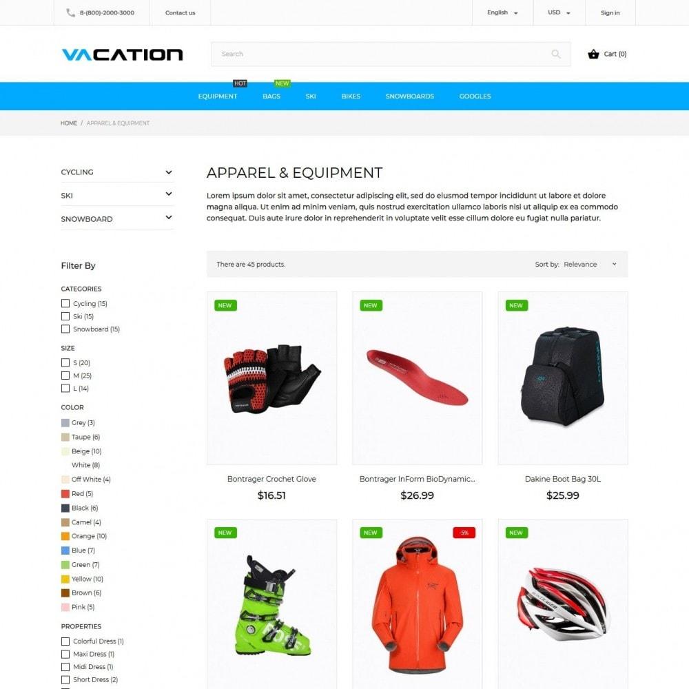 theme - Desporto, Actividades & Viagens - Vacation - 5