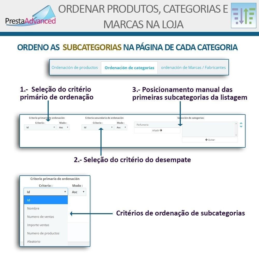 module - Personalização de página - Ordenar produtos, categorias e marcas na loja - 14