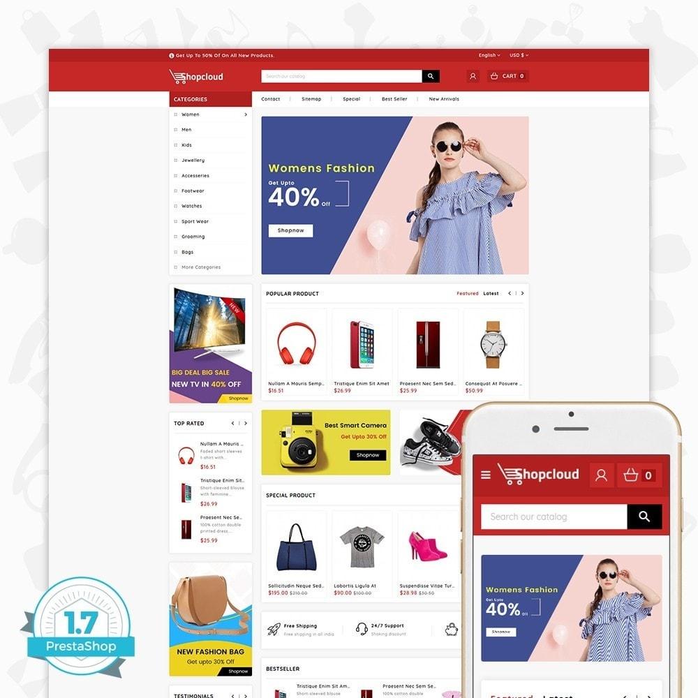 theme - Elektronik & High Tech - ShopCloud - The Electronics Store - 1