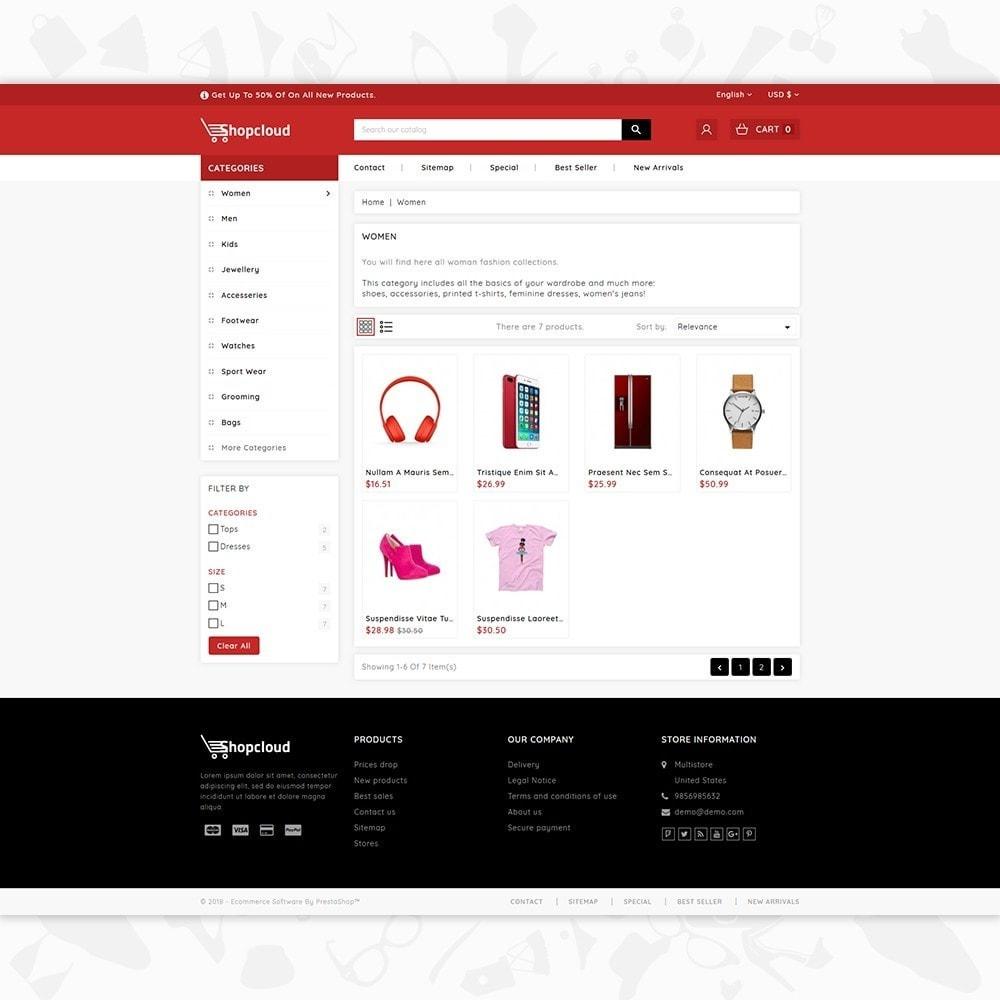 theme - Elektronik & High Tech - ShopCloud - The Electronics Store - 3