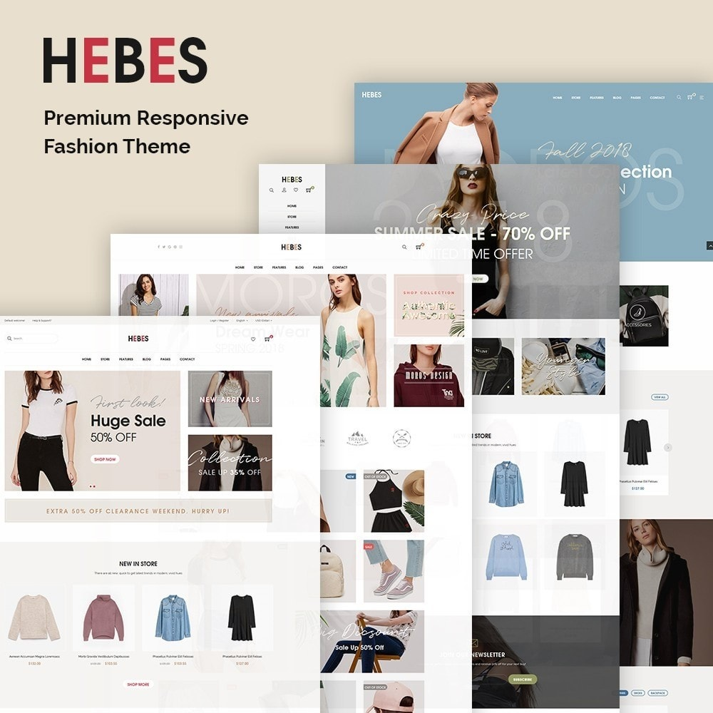 theme - Fashion & Shoes - JMS Hebes - 1