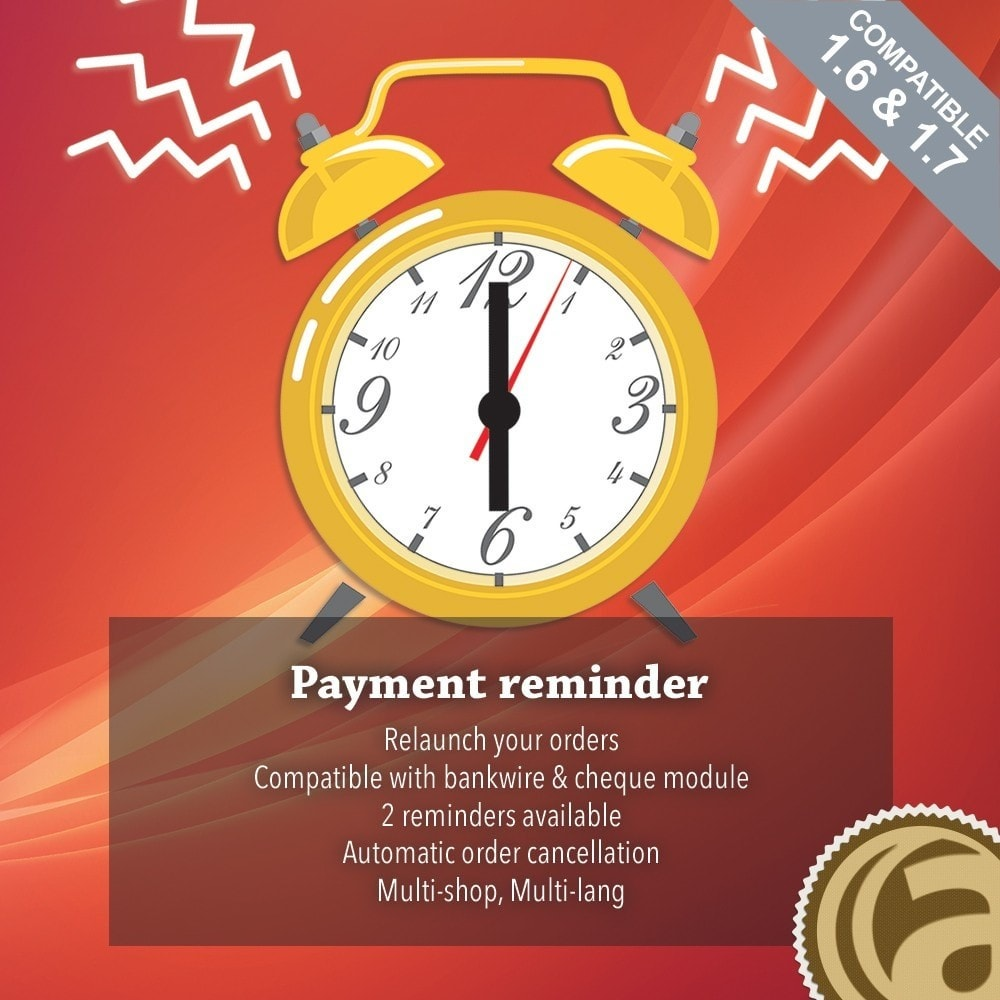 module - Andere Zahlungsmethoden - Payments reminder - 1