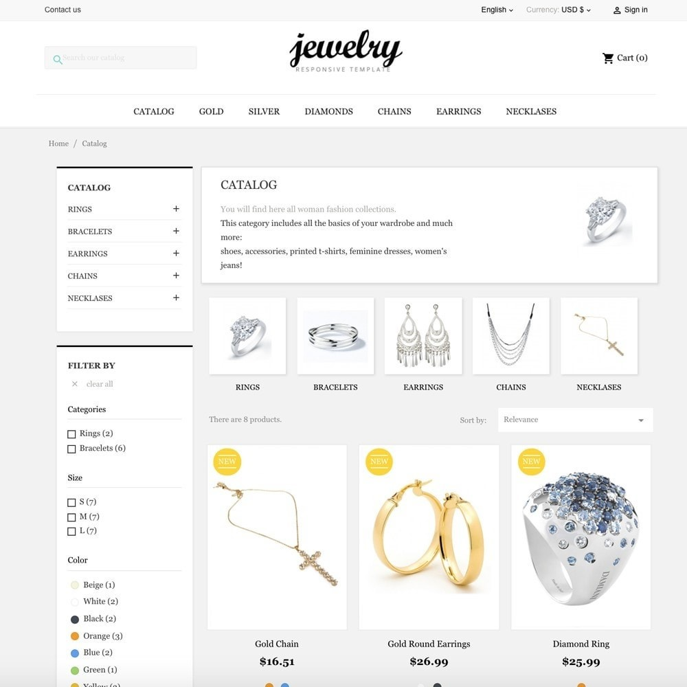 theme - Jewelry & Accessories - Jewelry Shop - 5