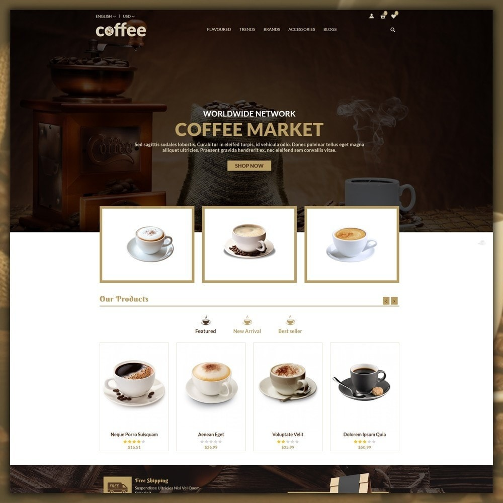 theme - Bebidas & Tabaco - Coffee Shop - 2