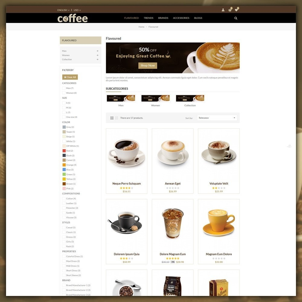 theme - Drink & Tobacco - Coffee Shop - 4