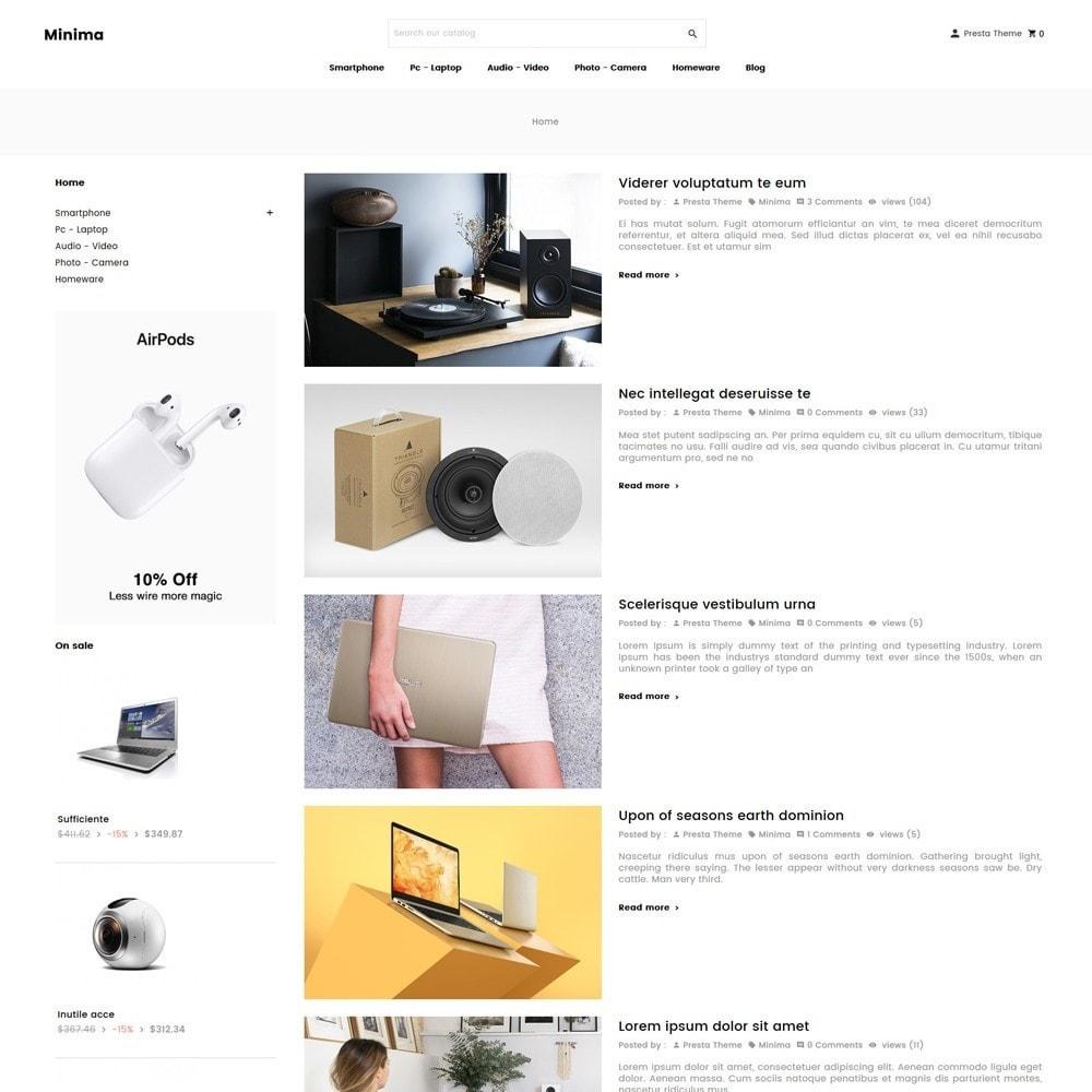 theme - Electronics & Computers - Minima - 9