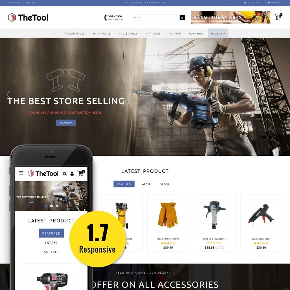 theme - Coches y Motos - TheTools Store - 1
