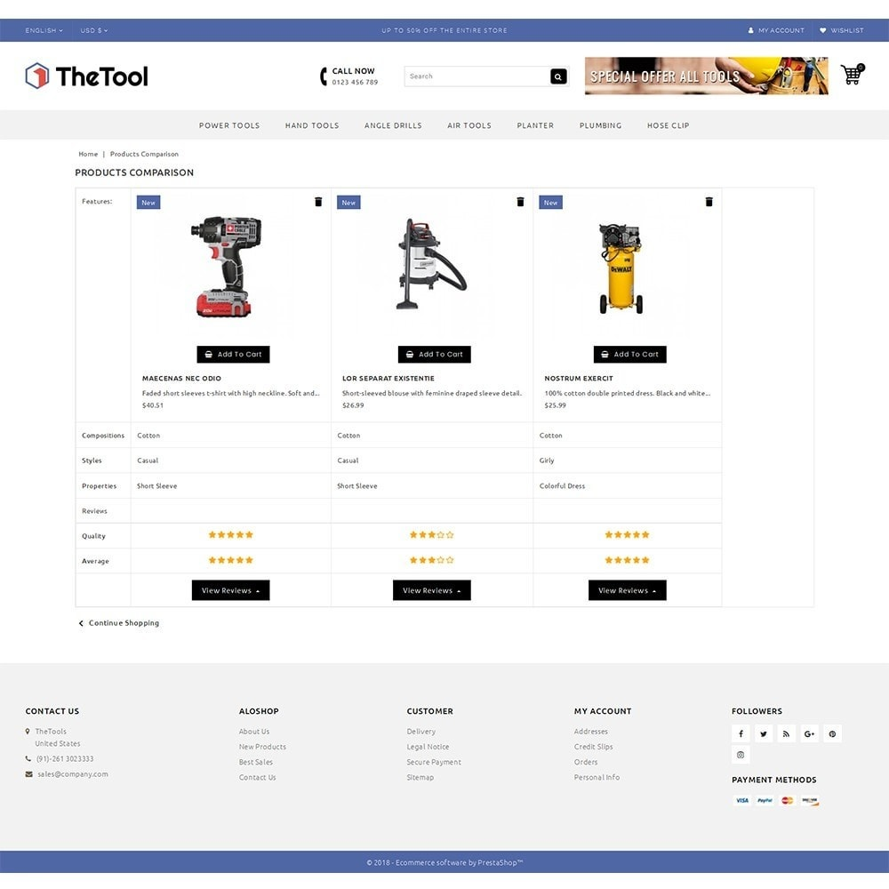 theme - Coches y Motos - TheTools Store - 9