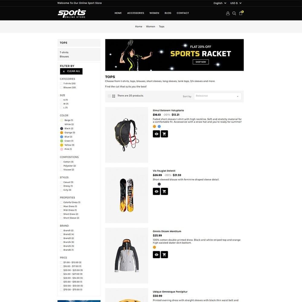 theme - Sport, Attività & Viaggi - Sports Store - 5